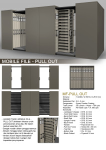 Mobile File Pull Out Alba