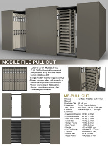 Mobile File Pull Out Alba C
